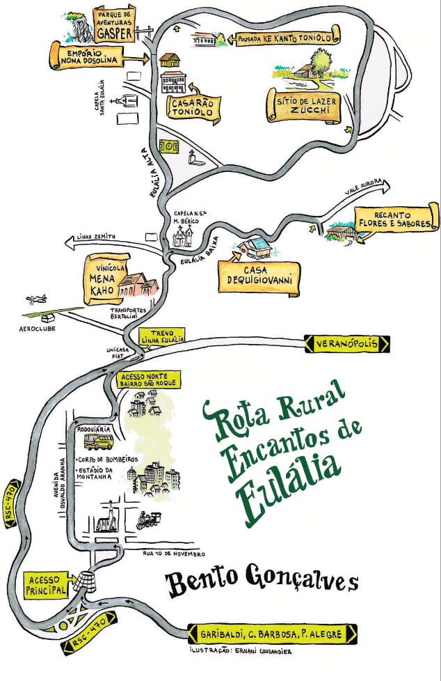 Mapa Eulália